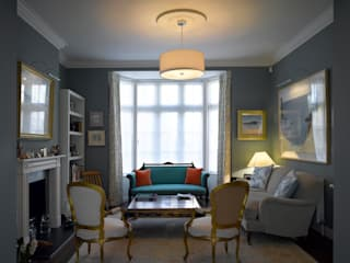 Park Village West Classic style living room by Belsize Architects Classic