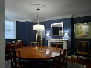 Park Village West Classic style dining room by Belsize Architects Classic