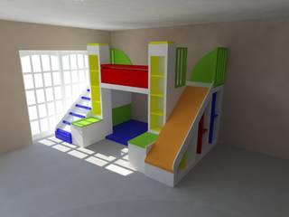 Juego para chicos en dormitorio:  de estilo  por Somos Arquitectura