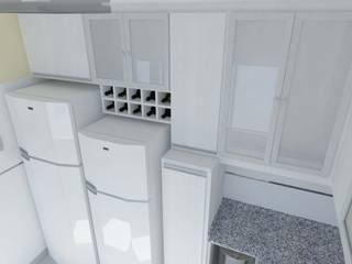 Cocinas de estilo moderno por Somos Arquitectura