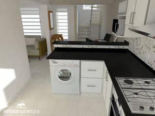 Cocinas de estilo  por Somos Arquitectura