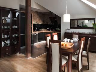 Phòng ăn phong cách hiện đại bởi ARTEMA PRACOWANIA ARCHITEKTURY WNĘTRZ Hiện đại