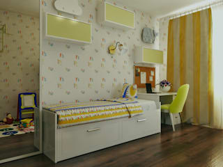 Nursery/kid's room by  Pure Design