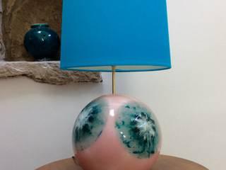 lampe sphère avec abat-jour:  de style  par roland framorando