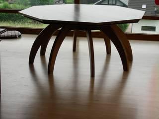 Esstisch:   von Tim Rembold Holzgestaltung