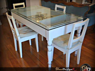 decordesignr di Annalisa Calì Dining roomTables Wood White