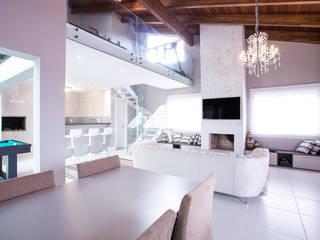 Camila Chalon Arquitetura Classic style media room