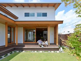haws建築設計事務所 Scandinavian style balcony, veranda & terrace Wood Green
