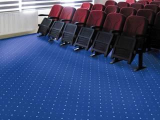CONFETTI CARPETS – POINTS BLUE:  tarz Duvarlar