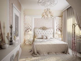 Classic style bedroom by Инна Михайская Classic