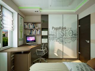 Dormitorios infantiles de estilo moderno de Инна Михайская Moderno