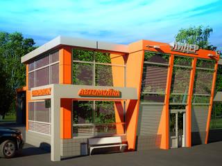 Moderne Häuser von Инна Михайская Modern