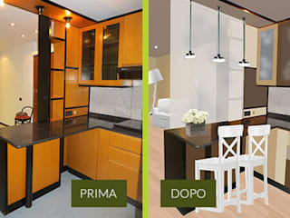 Rendering Photoshop Cucina moderna di CA'MI design Moderno