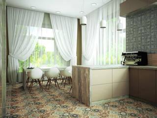 Проект шале в Белгороде: Столовые комнаты в . Автор – Инна Михайская,