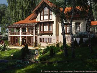 Rumah Modern Oleh Мастерская ландшафта Дмитрия Бородавкина Modern