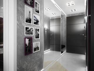 Проект квартиры-студии в Москве: Коридор и прихожая в . Автор – Инна Михайская,
