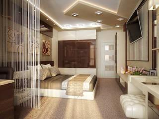 Dormitorios de estilo moderno por Инна Михайская