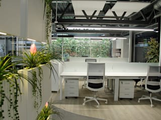 Quark Arquitectura Bangunan Kantor Gaya Industrial