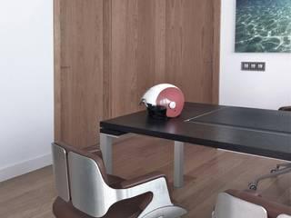 Arbeitszimmer von BOX49 Arquitectura y Diseño, Minimalistisch