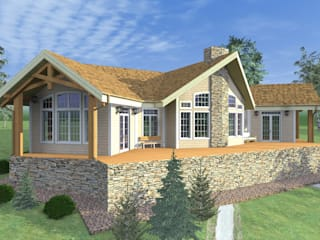 Country style house by БилТэк Country