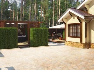 Карельская усадьба: Сады в . Автор – Мастерская ландшафта Дмитрия Бородавкина
