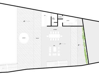 Casa Valle: Casas de estilo moderno por Colectivo IA02