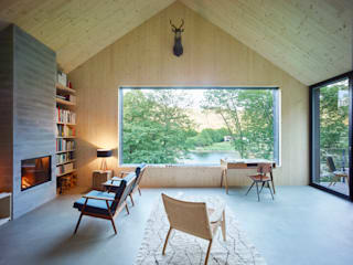 Backraum Architektur Living room Wood