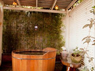 Cactus Arquitetura e Urbanismo Casas de estilo rural