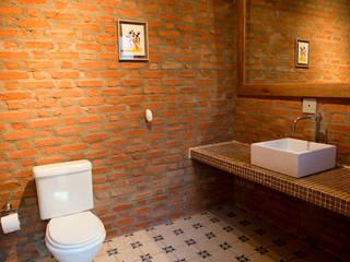 ห้องน้ำ by Cactus Arquitetura e Urbanismo