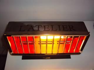 Lampe L'Atelier par Design Recycl Industriel