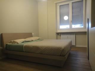 CASA RELAX studionove architettura Camera da letto in stile mediterraneo Legno Beige