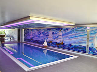Modern pool by ARTISTIC DESIGN Modern