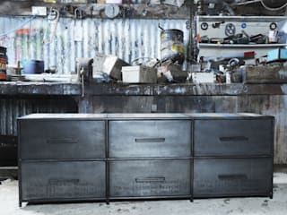 Boat Yard Blues Sideboard:   by Cambrewood