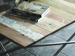 Boat Yard Blues Coffee Table:   by Cambrewood