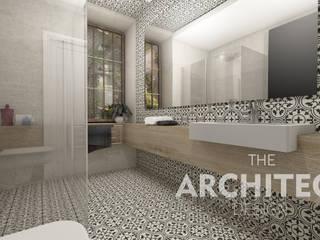 Aranżacja wnętrza http://thearchitect.pl Nowoczesna łazienka od THE ARCHITECT DESIGN Nowoczesny
