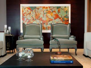 Living room by Arquitetura 8 - Ana Spagnuolo & Marcos Ribeiro