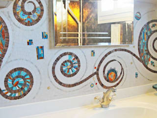 Realisations mozaique:  de style  par Décoration mosaique Mozaiktoone
