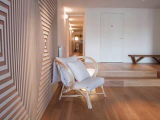 Piso en Palermo · Paula Herrero | Arquitectura: Livings de estilo  por Paula Herrero | Arquitectura