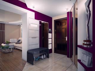 Проект 4х комнатной квартиры: Коридор и прихожая в . Автор – Инна Михайская,