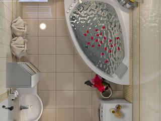 Проект 4х комнатной квартиры: Ванные комнаты в . Автор – Инна Михайская,
