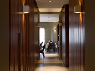 Paula Herrero | Arquitectura Sala da pranzo moderna Legno