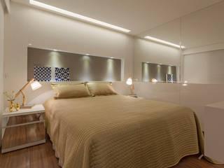 Apartamento Holanda Quartos modernos por Carmen Calixto Arquitetura Moderno