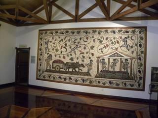 Corredores, halls e escadas clássicos por Mosaico Leonardo Posenato Clássico
