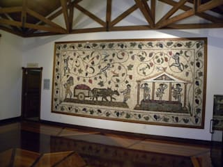 Klasyczny korytarz, przedpokój i schody od Mosaico Leonardo Posenato Klasyczny