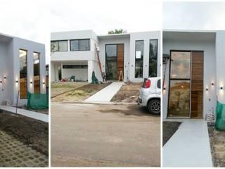 Casa C+L Casas modernas: Ideas, imágenes y decoración de Indinaco srl Construcciones y servicios Moderno