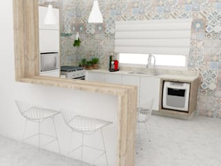 Arquiteto Virtual - Projetos On lIne Kitchen MDF White