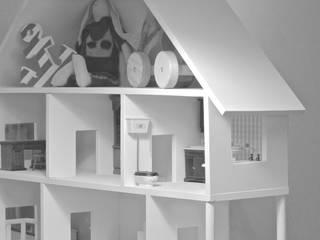 Domek dla lalek - projekt indywidualny_ od MyWoodVillage Skandynawski