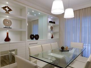 Projeto Salas de jantar modernas por Solange Guerra Moderno