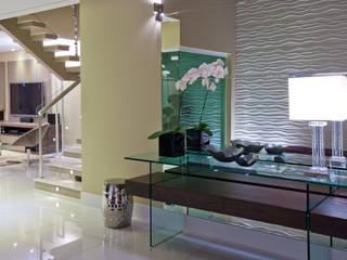 Casa São bernardo do Campo Salas de estar modernas por Leila Libardi Moderno