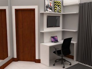Dormitorios de estilo industrial de Arquiteto Virtual - Projetos On lIne Industrial